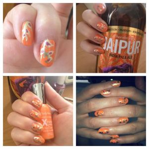 Thornbridge Jaipur expressed through the medium of nail art